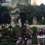 Black man statue